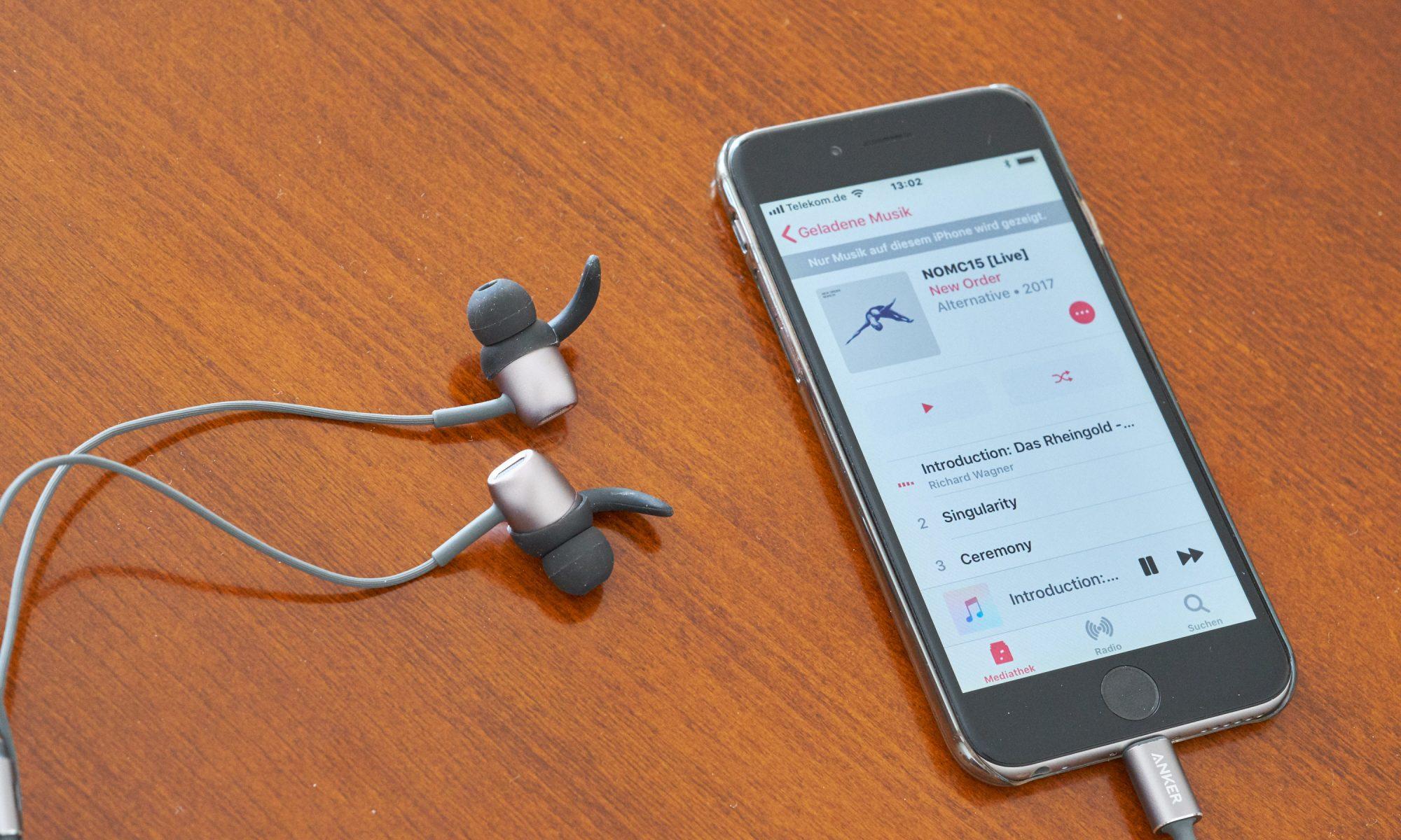 test anker soundbuds digital ie10 in ear kopfh rer mit. Black Bedroom Furniture Sets. Home Design Ideas